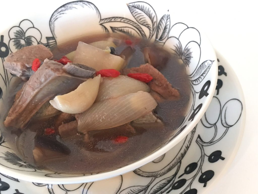 本格シンガポール風バクテー(肉骨茶)
