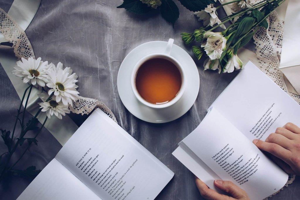 ティータイムと読書