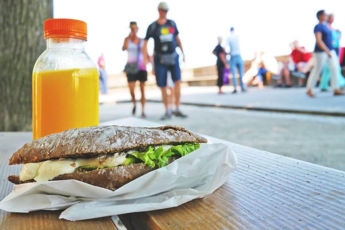 サンドイッチと運動