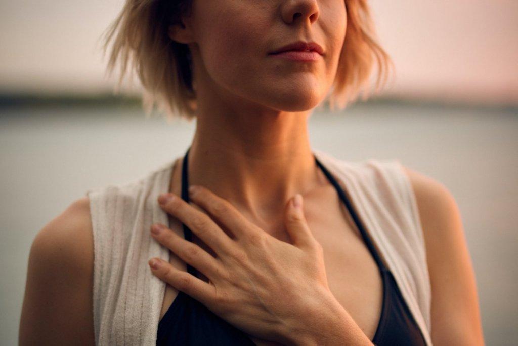 呼吸 女性