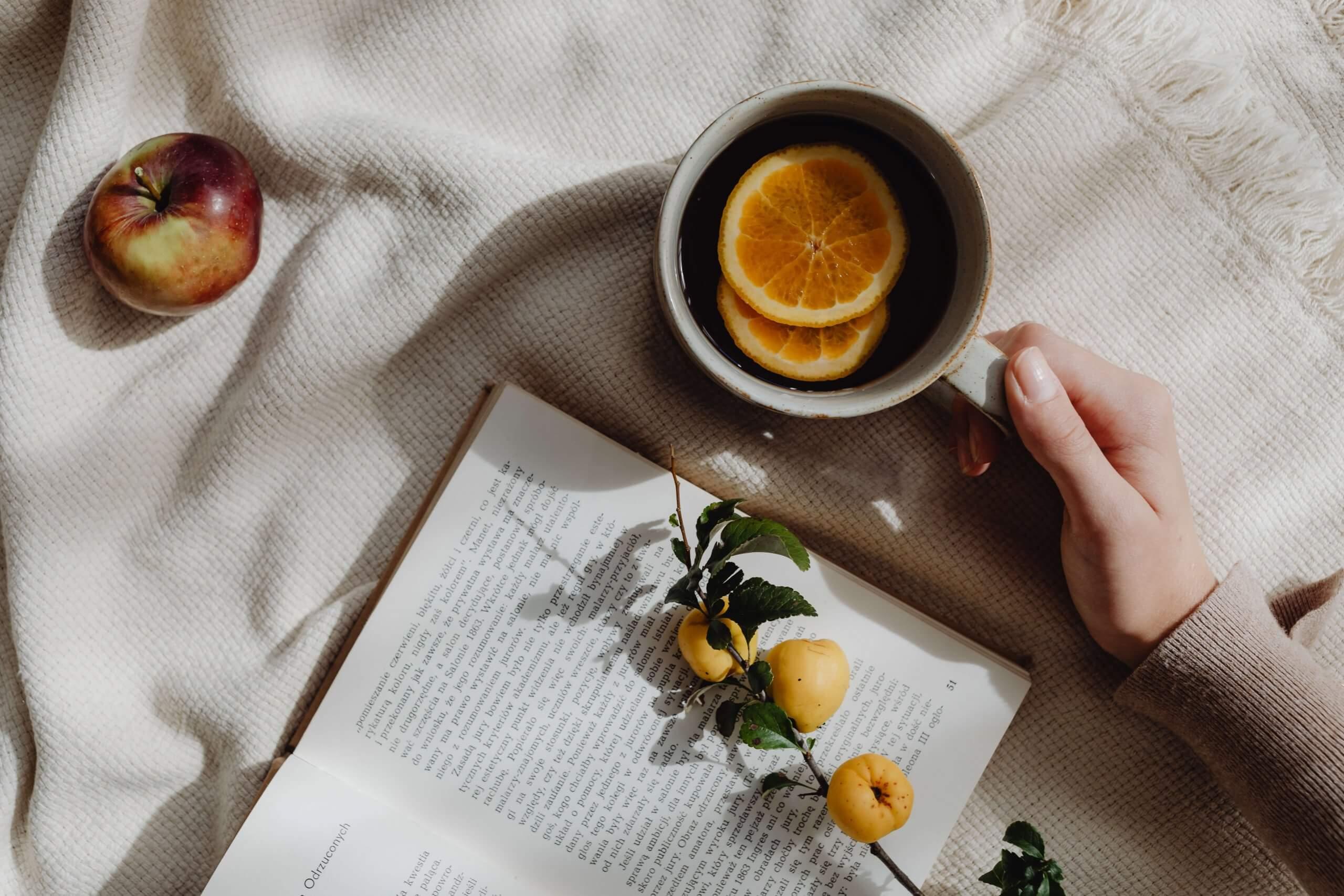 読書 お茶